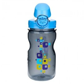 Bidon NALGENE OTF Kids Cap and Squares 350ml Szary