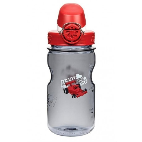Bidon NALGENE OTF Kids Cap and Race Car 350ml Szary