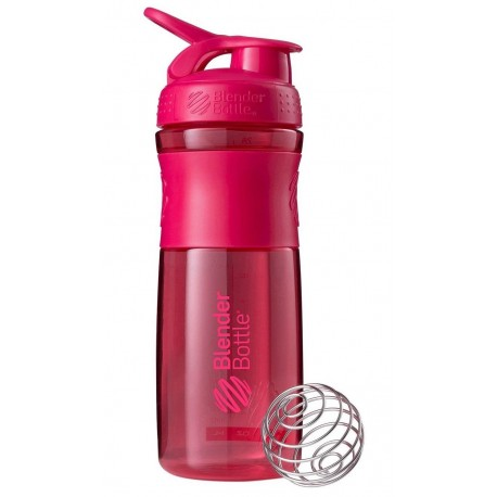 Bidon BlenderBottle SportMixer 820ml Różowy